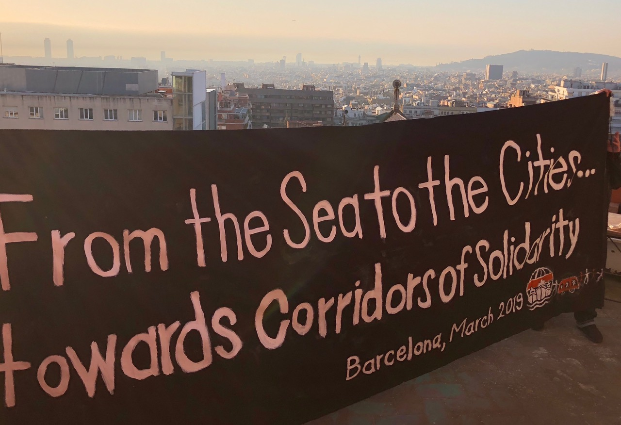 Banner From the Sea to the Cities