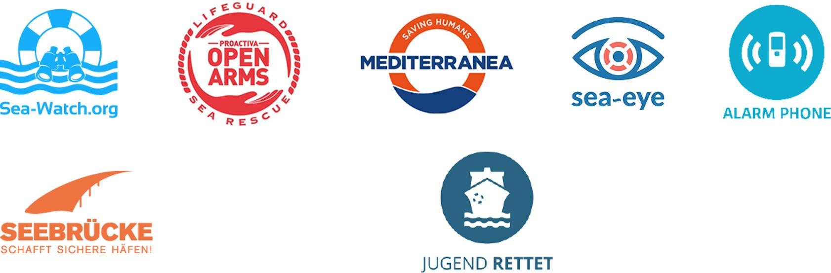 Signatory SAR Civil Fleet Organizations