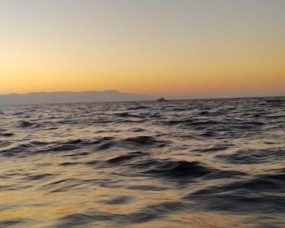 Morning Sun Aegean Sea